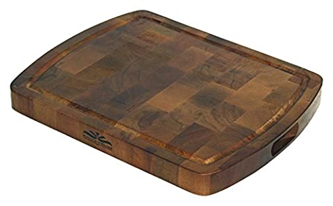 Mountain Woods Acacia End Grain Cutting Board by Mountain Woods