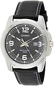 Casio Watch For Men Leather Band