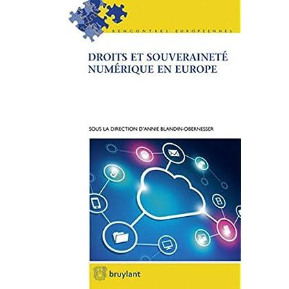 Droits et souveraineté numérique en Europe