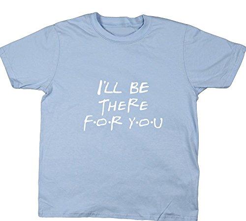 Hippowarehouse Mädchen T-Shirt Gr. 3-4 Jahre, Hellblau (T-shirt Hot 4 Mädchen U)