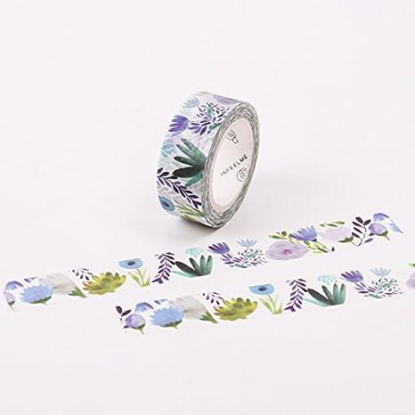 WRITIME 2 STK 11 Styles 15mm x 7m Jahreszeiten Farben Blumen ...
