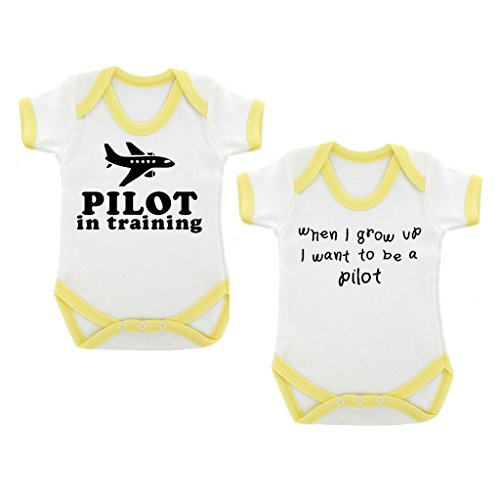 2er-pack-pilot-in-training-when-i-grow-up-baby-bodys-mit-gelb-kontrast-trim-schwarz-print-gr-68-weis