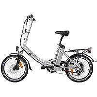 e-motos Alu Pedelec K20 Faltrad Klapprad E-Bike mit Panasonic Akku