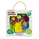 LAMAZE Gardenbug Wrist Baby Rattle Toy Baby Gift Set | Cute Foot Finder Baby Toy with Sensory Stimulation | Suitable for Boys & Girls From 0 - 6 Months