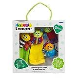 LAMAZE - Sonajeros para muñeca y Calcetines Insectos (Tomy 30697634)