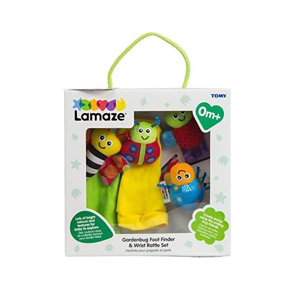 Lamaze Gardenbug Wrist Rattle Footfinder Baby Gift Set 1
