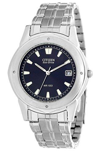 Citizen ctzbm0181-55l - orologio da polso da uomo, cinturino in acciaio inox colore argento
