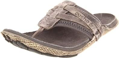 Cushe Manuka Wrap Leather, Tongs homme - Gris (Mid Grey), 42 EU