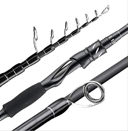 FEIF Angelrute 2,1 Mt 2,4 Mt Carbon Stick Teleskop Angelrute M Power Casting Rotierende Rute Reiserute 7-25G £ 8-18 Angeln China Rotierenden 210 cm -