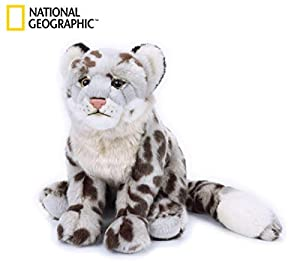 Venturelli Leopardo de Las Nieves Medio NGS Animal Bosque Peluches Juguete 288,, 8004332708179