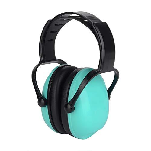 Kopfhörer Mit Geräuschunterdrückung, Schalldichte Ohrenschützer For Kinder, Kopfhörer Mit Geräuschunterdrückung For Die Trommel.SNR 26dB For Kinder Und Babys Im Alter Von 3-16 Jahren ( Color : Green ) (3 16-protektor)
