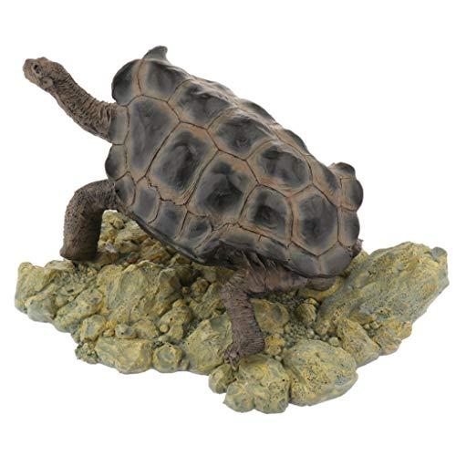 FLAMEER Künstliche Simulation Schildkröte Aquarium Ornament - Typ 1