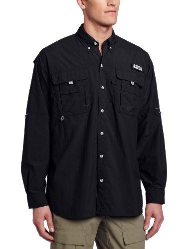Columbia bahamatm II L/S Shirt, chemise de pêche pour homme Noir