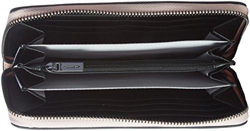 Calvin Klein - Le4 Large Ziparound, Portafogli Donna Rosa (Blossom)