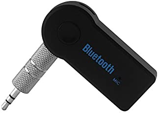 DMG Wireless 3.5mm Car Bluetooth Music Receiver/Adapter with MIC Stereo Output for Music Streaming System/Equipment,Home Appliances