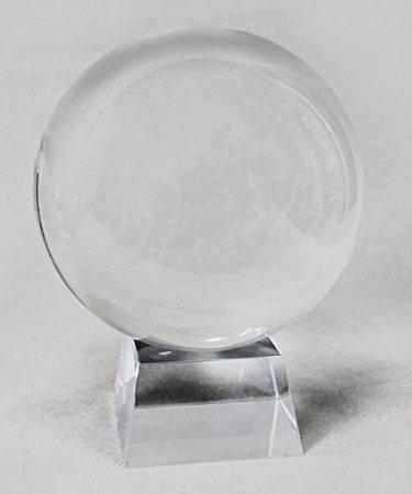 Bola de cristal bola de cristal con vidente Soporte Transparente, tran
