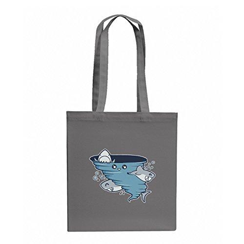 TEXLAB - Cute Shark Tornado - Stoffbeutel, ()