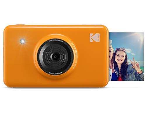 Kodak Mini SHOT Wireless 2x3 Zoll druckt mit 4 PASS patentierte Drucktechnologie 2 in 1 Instant Print Digitalkamera (Gelb)