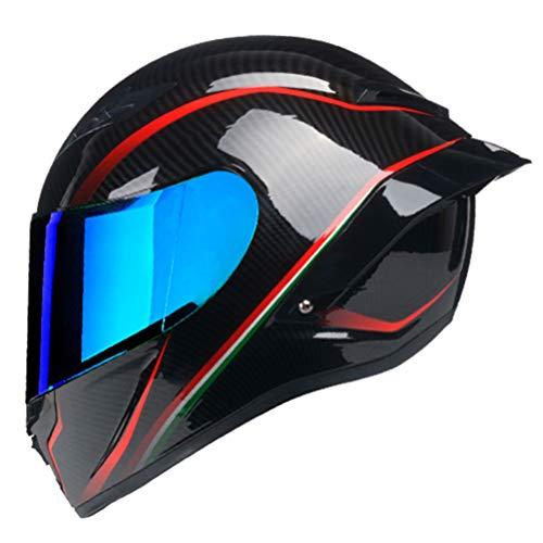 Full Face Motorradhelm Casco Moto Racing Helm