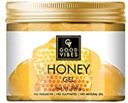 Good Vibes Honey Gel - 300 g - Ideal for Dull Hair and Skin - Prevents Acne, Pimples and Dandruff - Cruelty Fr