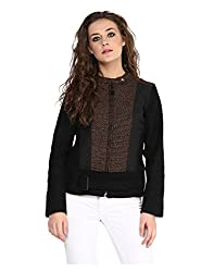 Yepme Piera Full Sleeves Jacket - Black -- YPMJACKT5147_XS