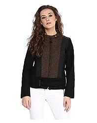 Yepme Piera Full Sleeves Jacket - Black -- YPMJACKT5147_XL
