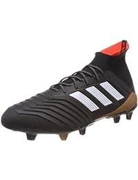adidas Nemeziz 17.3 AG, Scarpe da Calcio Uomo, Nero (Cblack/Cblack/Solred Cblack/Cblack/Solred), 44 EU
