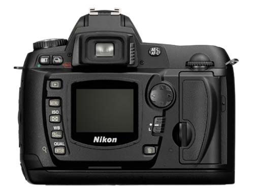 Nikon D-70 Kit digitale Spiegelreflexkamera (6,1 Megapixel) inkl. DX Nikkor 18-70
