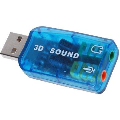 SODIAL(TM) USB 5.1 Adaptador de Tarjata de Sonido EstšŠreo šC Compatible con Windows 7