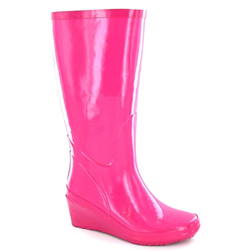 Spot On ,  Damen Gummistiefel Fuchsia