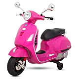 Best Power Scooter - BAYBEE Baby Scooter Officially Licensed Vespa Battery Operated Review
