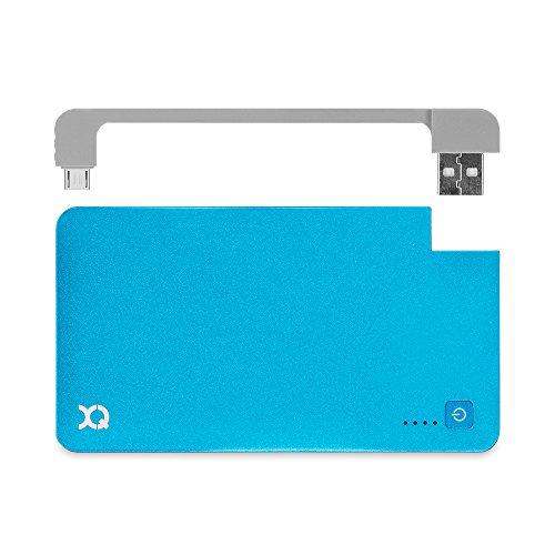 Xqisit externer Akku mit micro-USB-Kabel für Smartphones (3000mAh)