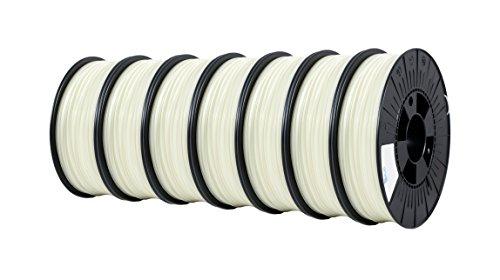 LP168 PLA Filament, 2,85 mm, 0,75 kg, Glow in the Dark (7-er Pack) ()