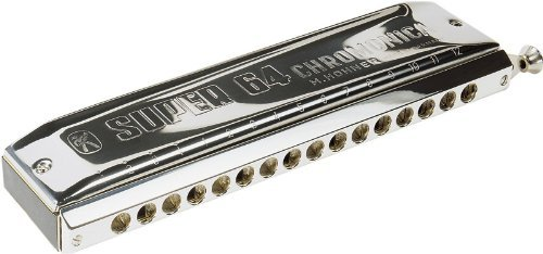 Hohner Super 64 C Chromatic Harmonica  available at amazon for Rs.39926