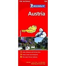 Austria - Michelin National Map 730 (Michelin National Maps)
