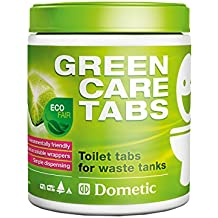Dometic 9107200118 Greencare Tabs Pastillas Ecológicas Autodegradables para Tanque de Aguas Negras