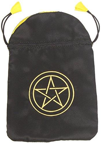 Pentacle Satin Tarot Bag (Bolsas de Lo Scarabeo Tarot Bags From Lo Scarabeo)
