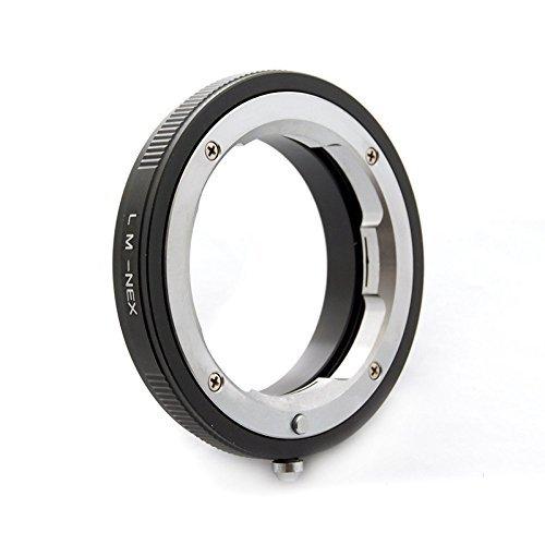 Mondpalast@ Objektivadapter, adapterring für Leica M Objecktive Summicron Summiltar Summilux Elmar an Sony NEX ILCE E mount caméra NEX 3 5 7 A5100 A6000 A7 A7s A7R A7 II Rust Dot