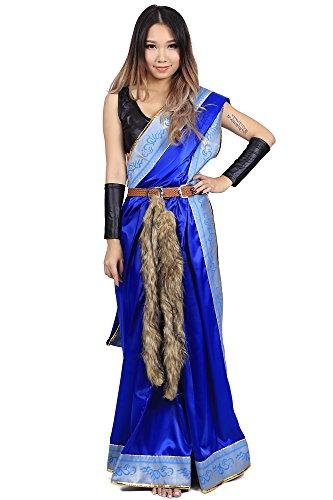De-Cos Final Fantasy XIII Cosplay Costume Oerba Yun Fang Outfit V1 (Fantasy Final Girl Kostüme)