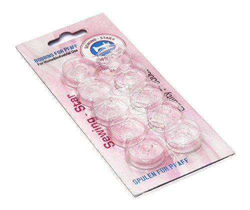 10 Spulen für Pfaff Nähmaschinen Haushalt von SEWING STAR