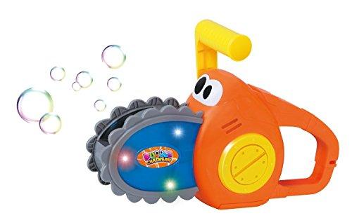 ⚝ Seifenblasen Kettensäge Seifenblasenmaschine Motorsäge für Kinder inkl. 240 ml Seifenblasen Nachfüllflasche ⚝ - 2