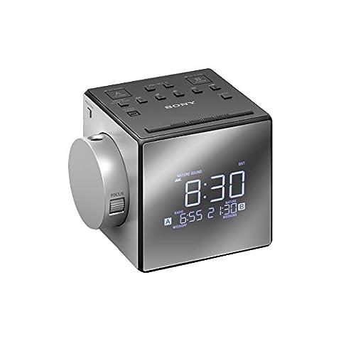 Radio Sony Icf - Sony ICF-C1PJ Radio-Réveil avec Projection de