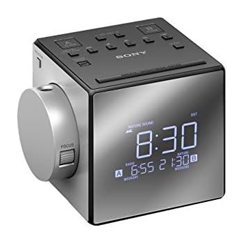 Sony ICF-C1PJ Radio-Réveil avec Projection de l'Heure