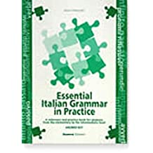 Essential italian grammar in practice. Answer key