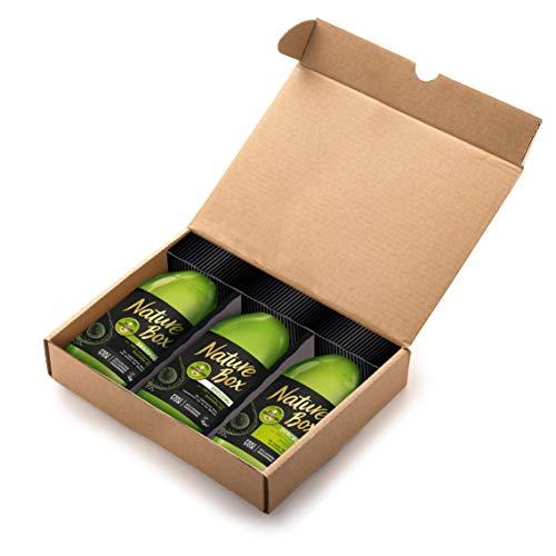 Nature Box Avocado-Öl Shampoo, Spülung, Duschgel Set, 1er Pack (3 x 385 ml)
