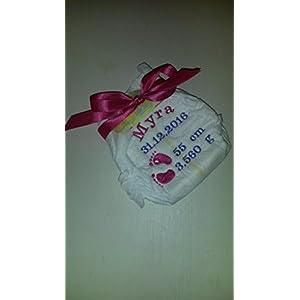 Pampers Windel bestickt / Geburtsgeschenk