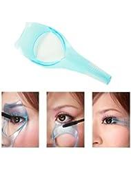 jushen 43in 1Make-up Mascara Wimper Guide Kamm Kosmetik Tool (blau)