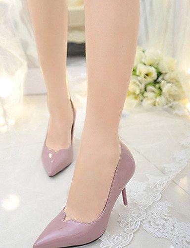 WSS 2016 Chaussures Femme-Décontracté-Noir / Gris / Multi-couleur-Talon Aiguille-Talons-Talons-Laine synthétique purple-us8 / eu39 / uk6 / cn39