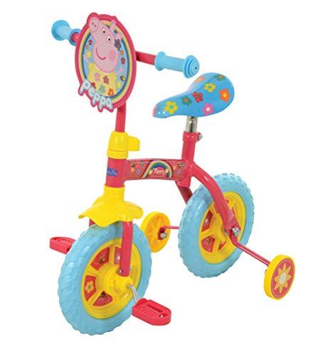 Peppa Pig M14705 2in1 10inch Bike Training, Multi