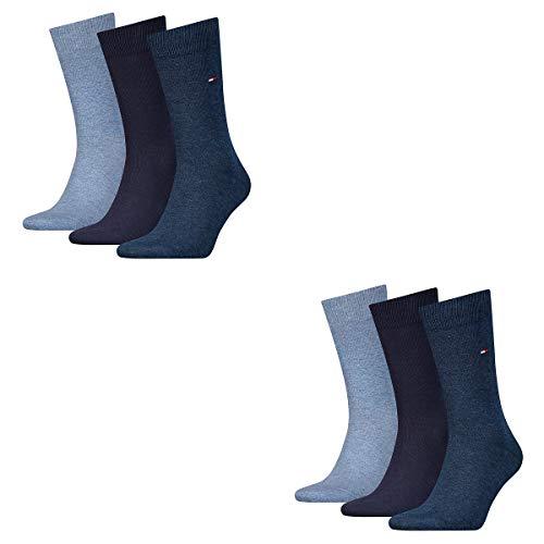 Tommy Hilfiger 6 Paar Classic Socken Gr. 39-46 Herren Business Socken, Farbe:322 - dark navy, Socken & Strümpfe:39-42